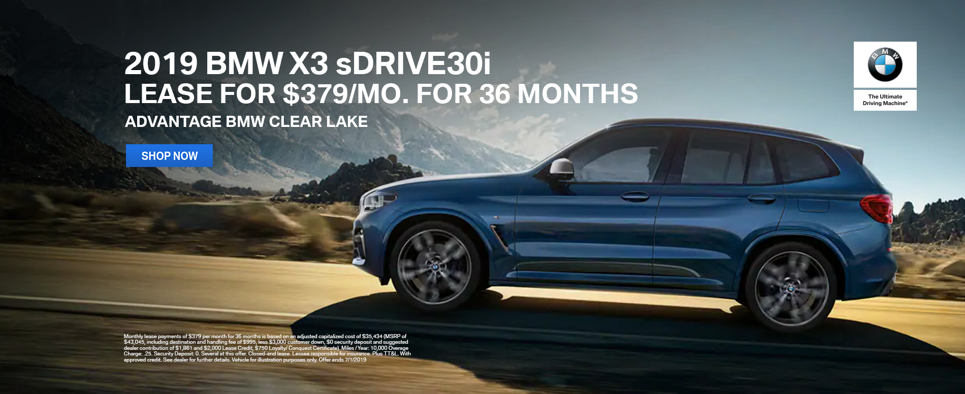 lease-2019-bmw-x3-sdrive30i-for-379-per-month-clearlake