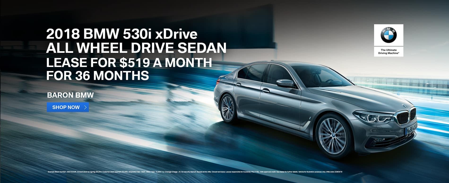 Lease-2018-BMW-530i-xDrive-AWD-Baron-KC