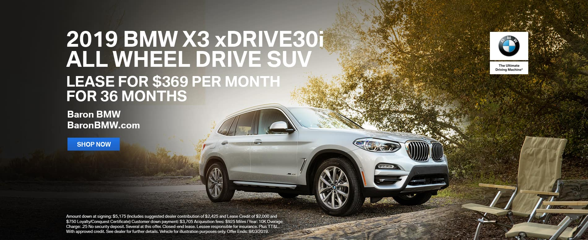 lease-2019-bmw-x3-xdrive30i-awd-suv-baron