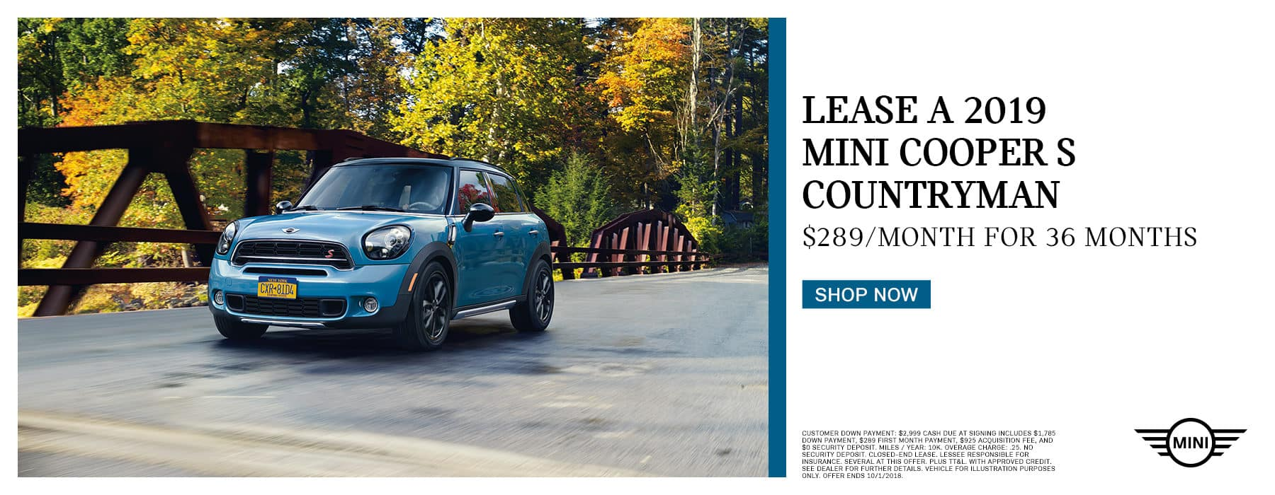 lease-2019-countryman-for-289-per-month