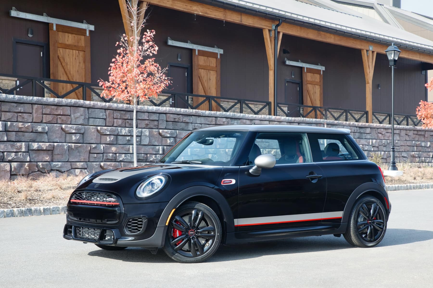 The 2019 Mini John Cooper Works Knights Edition Baron Mini