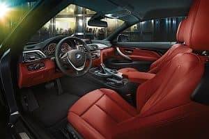2019 BMW 4 Series Interior Space
