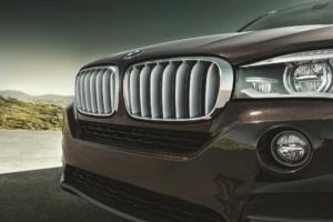 BMW X5 black headlights