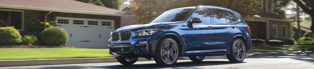 BMW X3 Reviews blue
