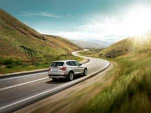 BMW X3 highway