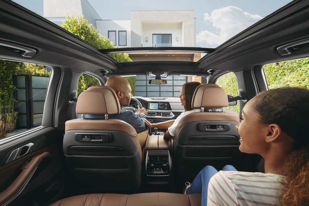 BMW X5 Interior Safety