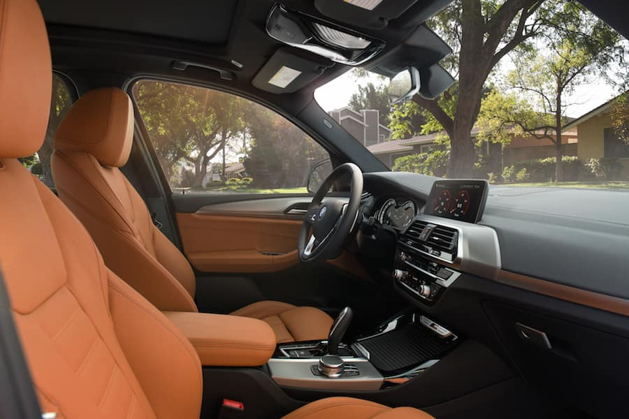 BMW X3 Series interior