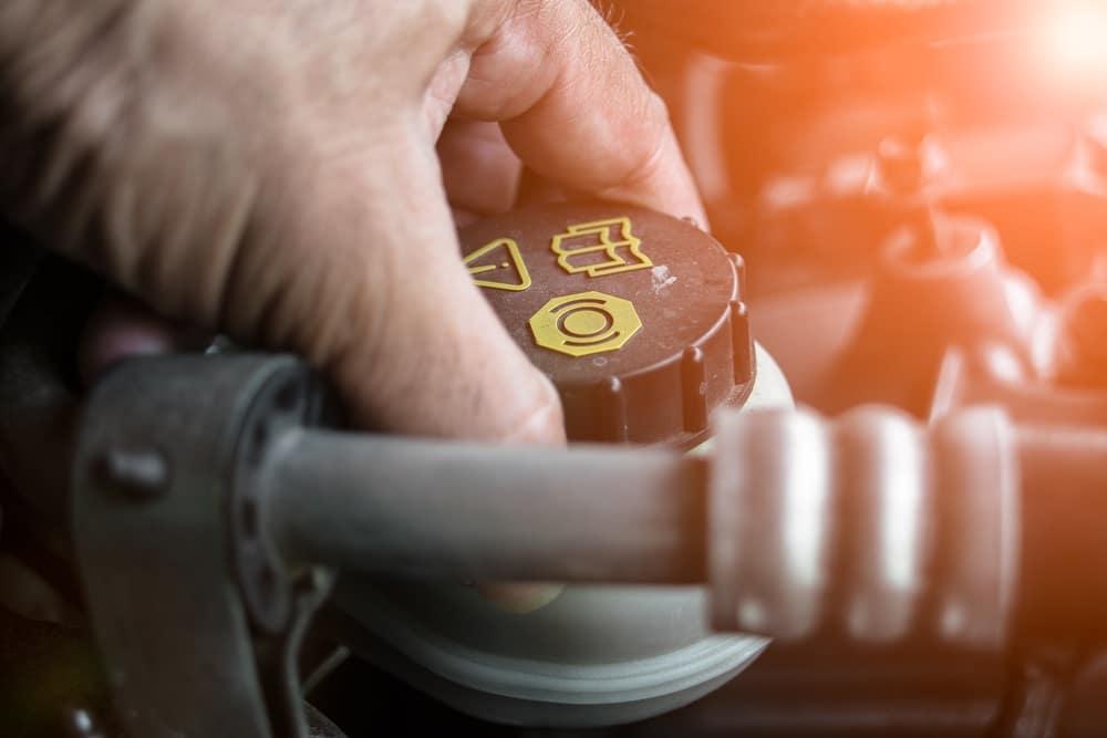 BMW 3 Series Brake Fluid Check