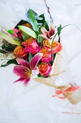Lure Bouquet Plum Floral