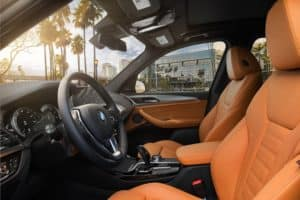 BMW X3 Interior Features