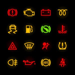 BMW X3 Warning Lights