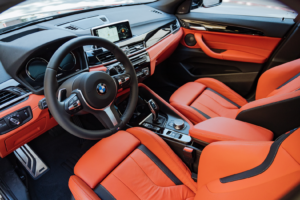Space Inside the BMW X2