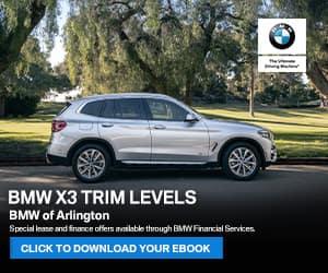 BMW X3 Trim Levels