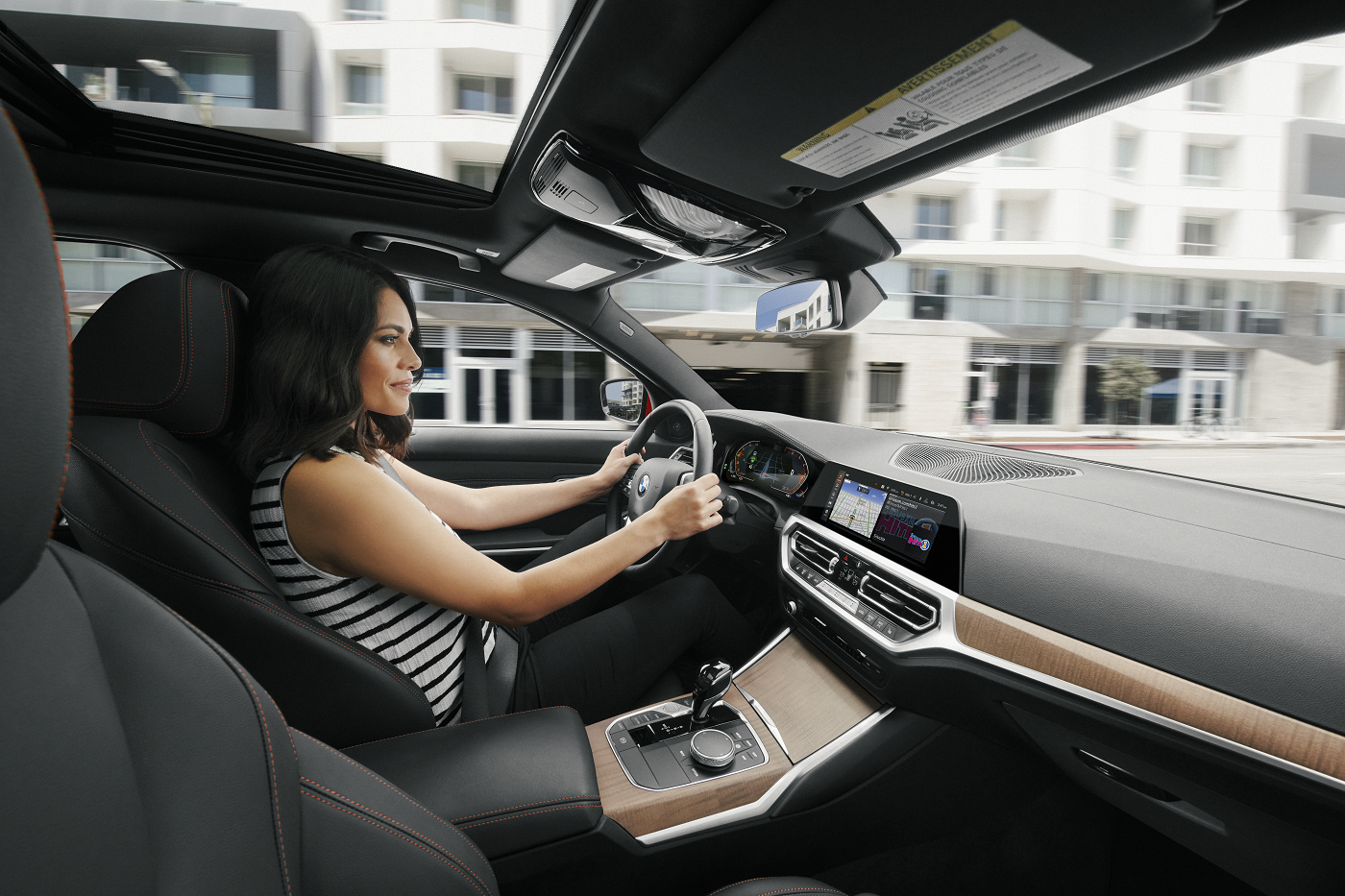 BMW 3 Series Interior Technology