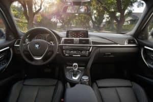 BMW Series 3 Interior Technology