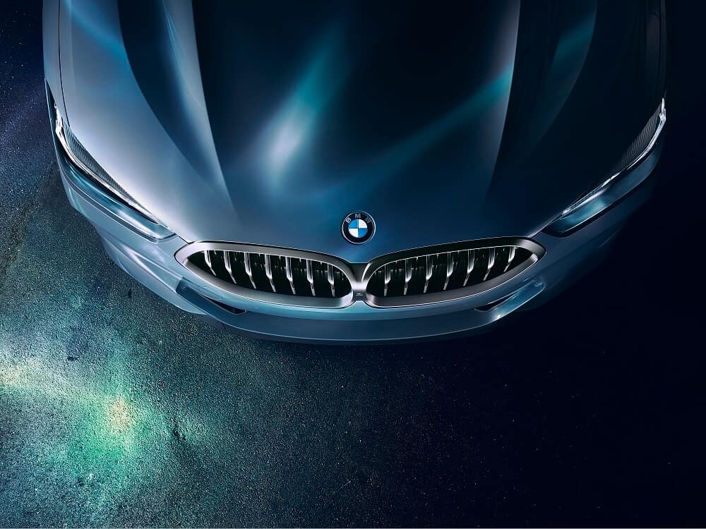 BMW 8 Series Top View