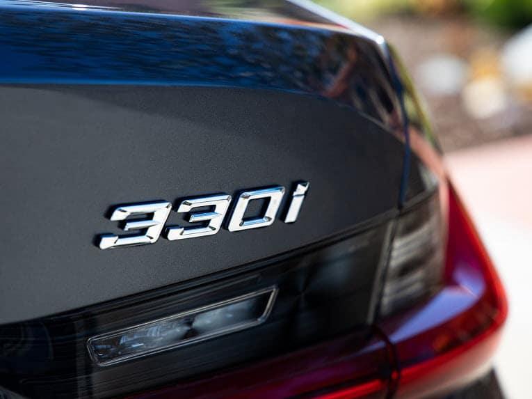 BMW 3 Series Branding