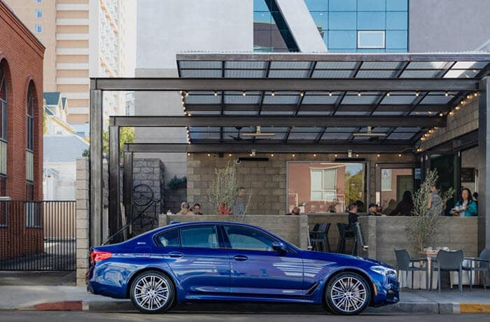 2019 BMW 5 Series in Blue