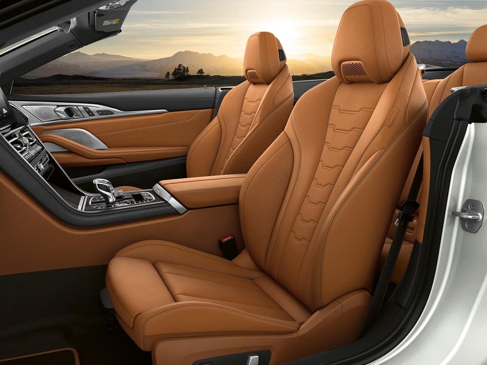 BMW Convertible Interior