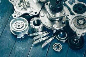 Pile of Automotive Parts
