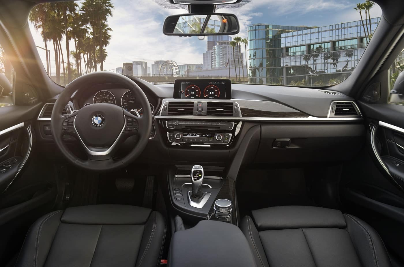 BMW 3 Series Interior Technology