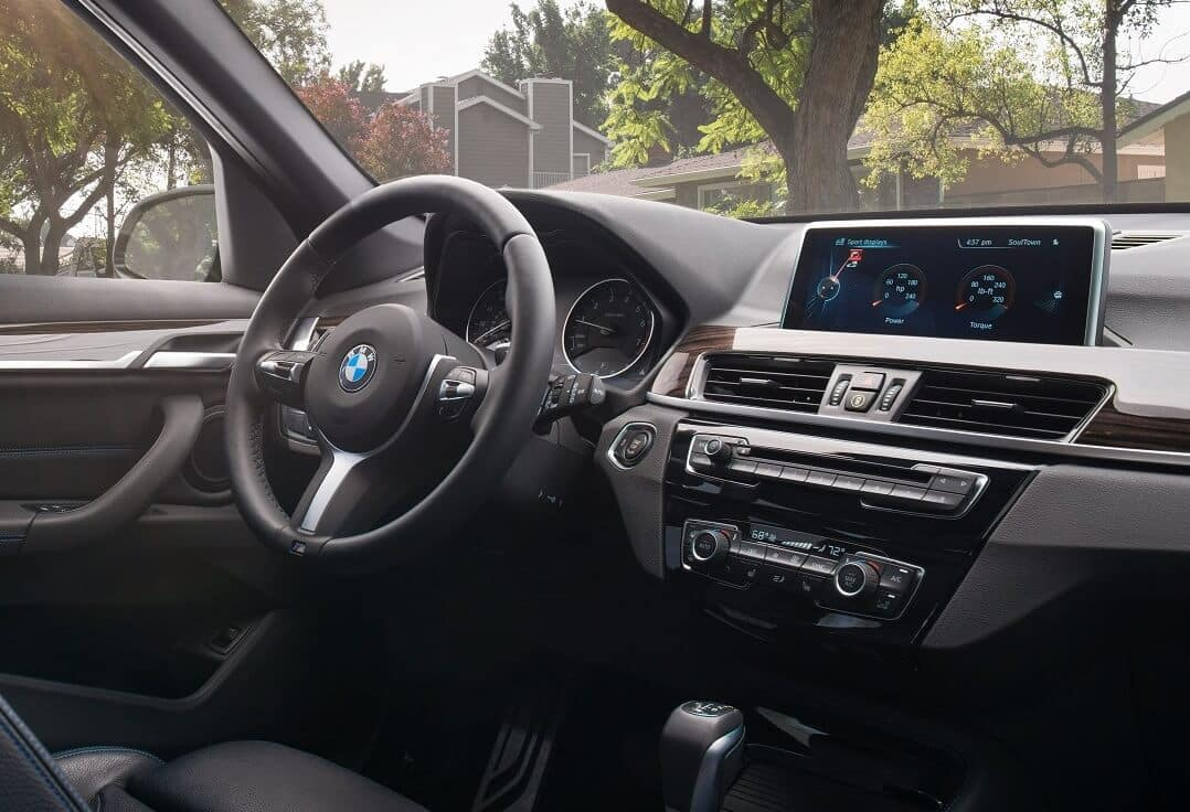 BMW X1 Interior Technology