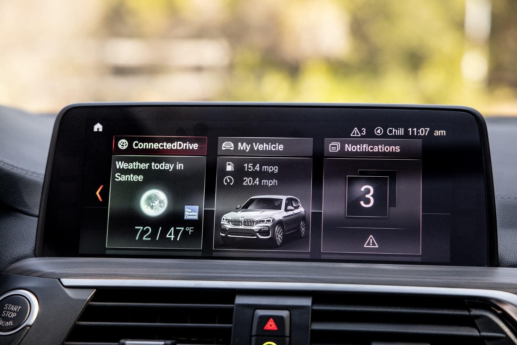 BMW X3 Technology