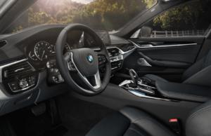 2020 BMW 5 Series Interior Space & Comfort