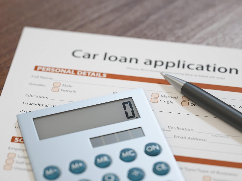 Car Loan Application with Calculator