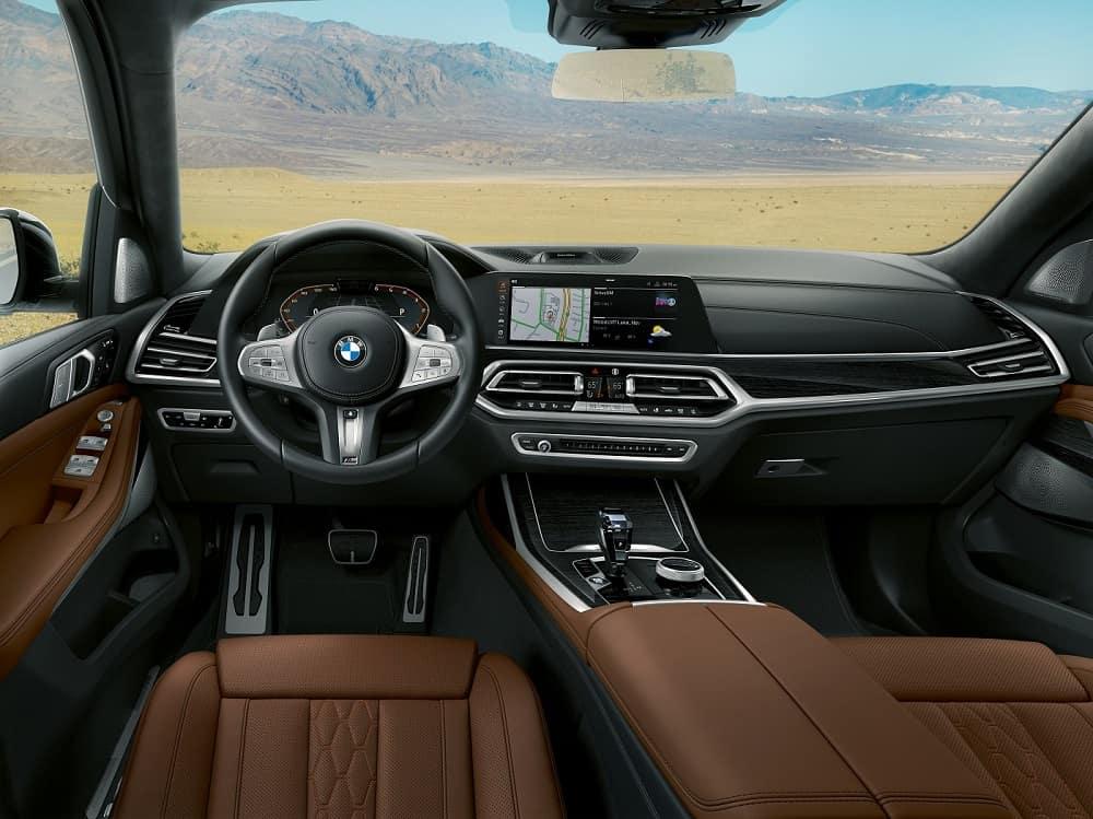 BMW X7 Interior Technology