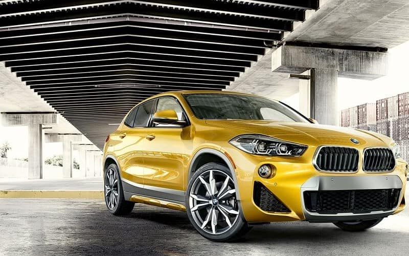 BMWX2SideFront1