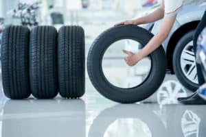adjust the tire pressure