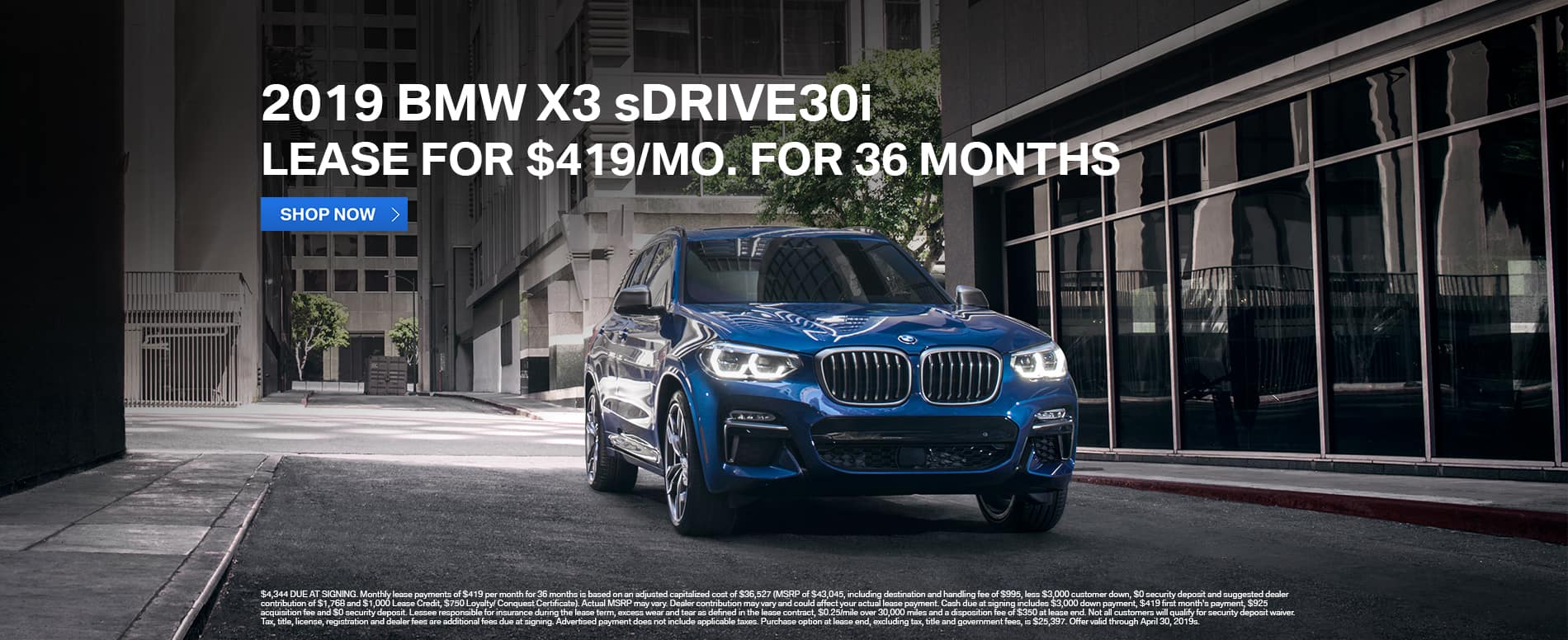 lease-2019-bmw-x3-sdrive30-419-mo-beaumont