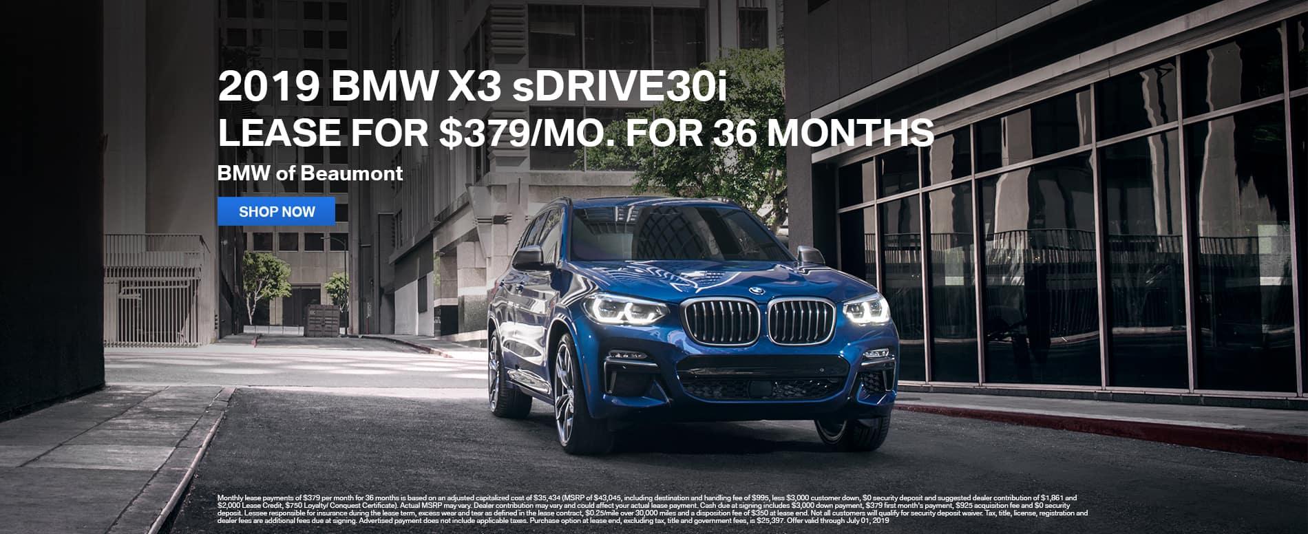 2019-BMW-X3-sDrive30i