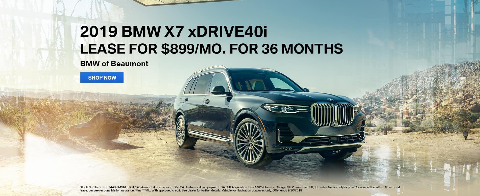 2019_Beaumont_BMW_X7_xDrive40i_Lease