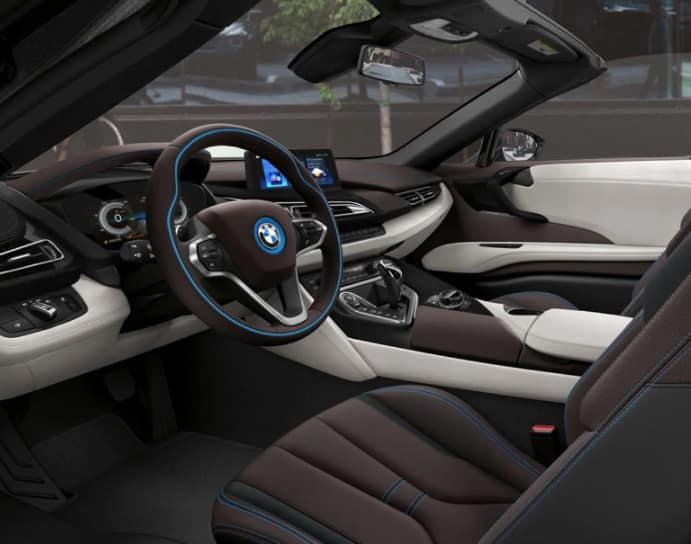 2019 BMW i8 Interior Technology