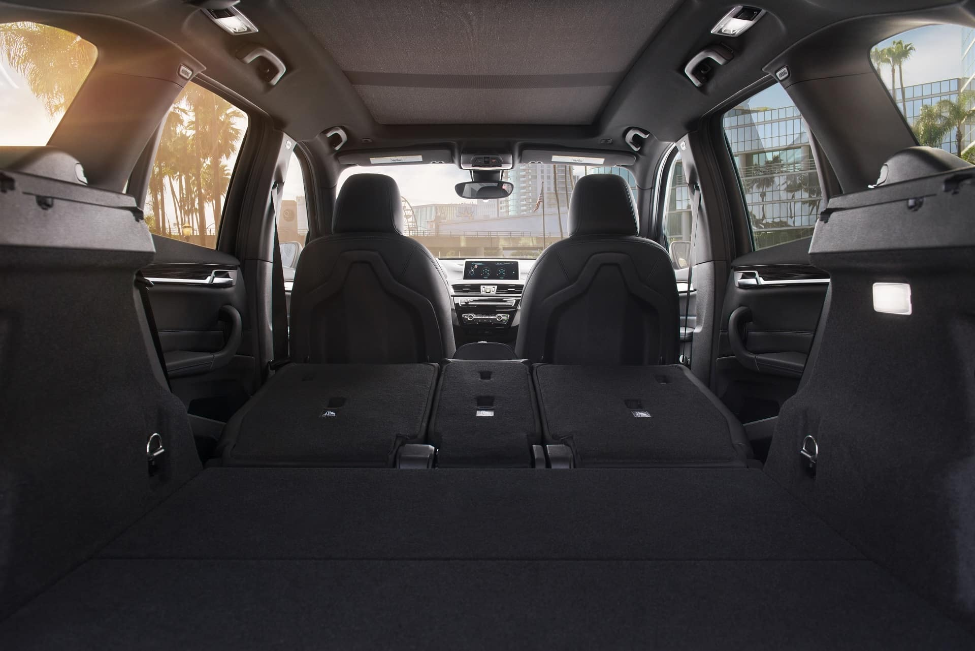 Trunk Space Inside in the 2019 X1