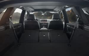 2019 BWM X5 rear seating