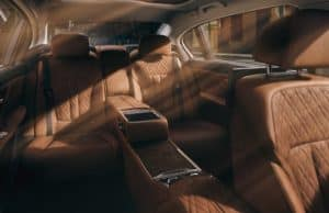 BMW Series 7 Cabin