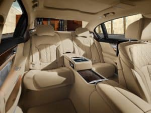 BMW 7 Series Interior Tan Leather
