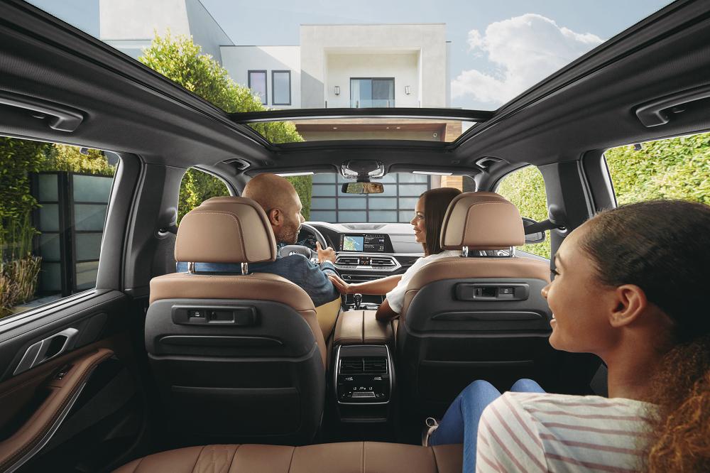 BMW X5 Interior Cabin