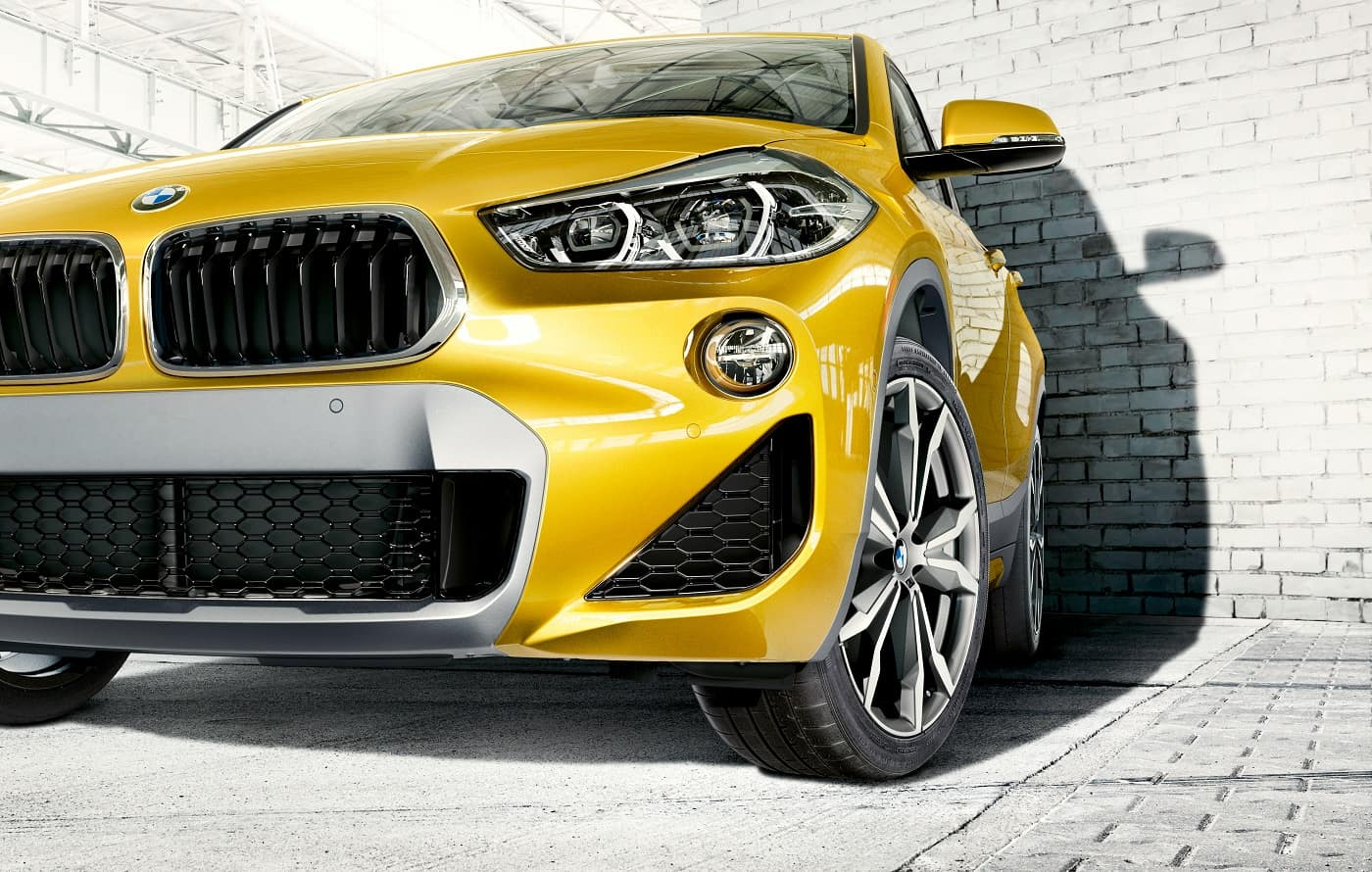 BMW X2 Galvanic Gold Metallic