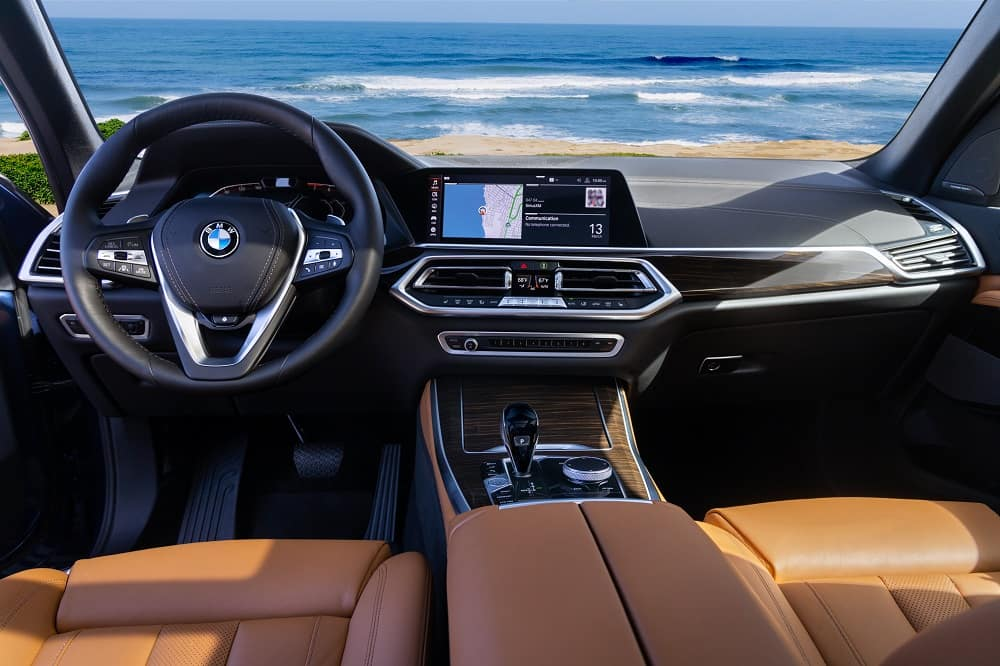 BMW X5 Infotainment