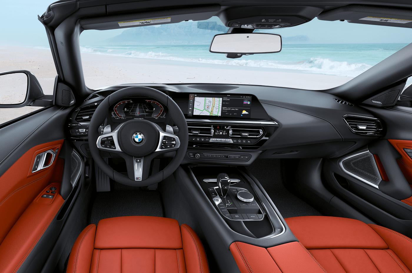 BMW Z4 Interior Technology