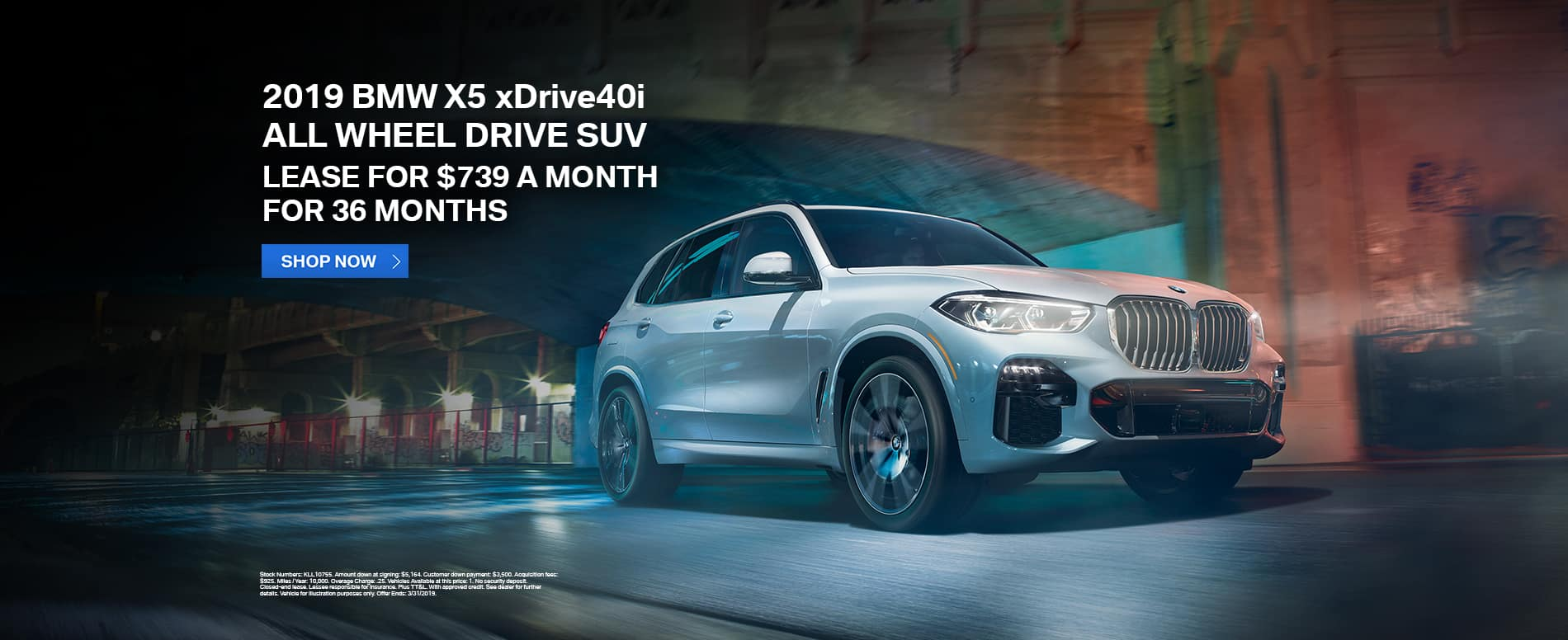 lease-2019-bmw-x5-xdrive40i-awd-suv-tulsa