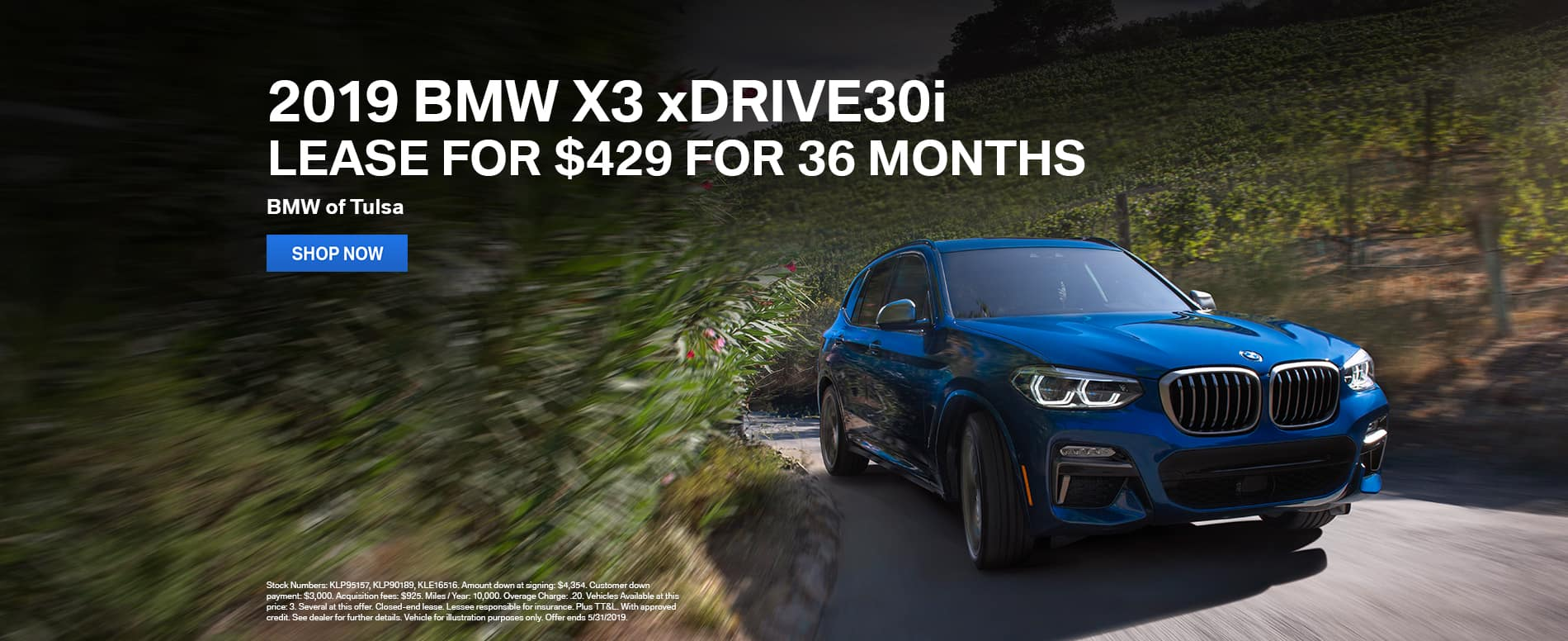 lease-2019-bmw-x3-xdrive30i-for-429-per-month-tulsa