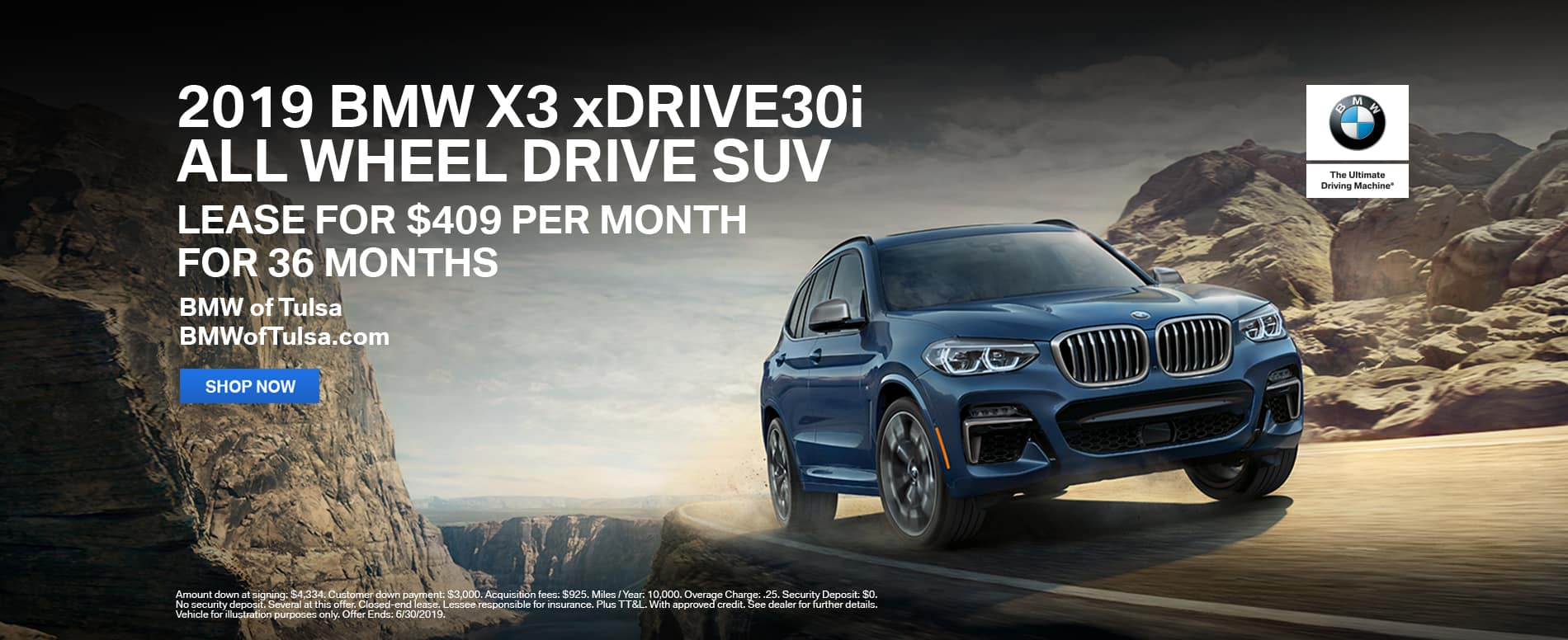 lease-2019-bmw-x3-xdrive-30i-awd-suv-tulsa