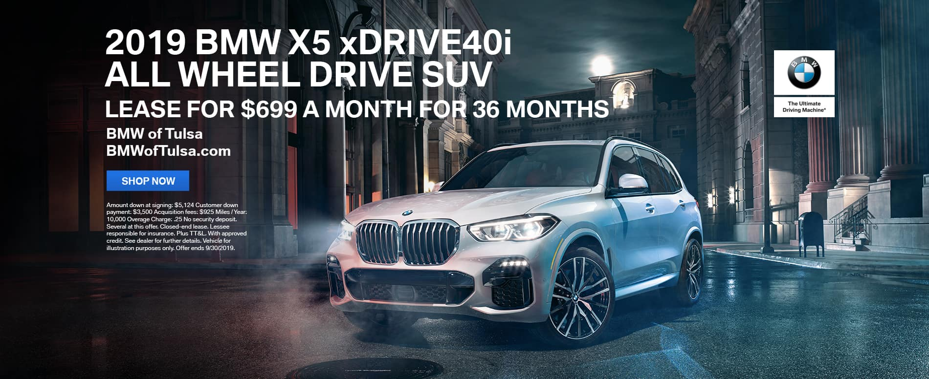 2019_BMW_X5_xDRIVE40i_All_Wheel_Drive_SUV