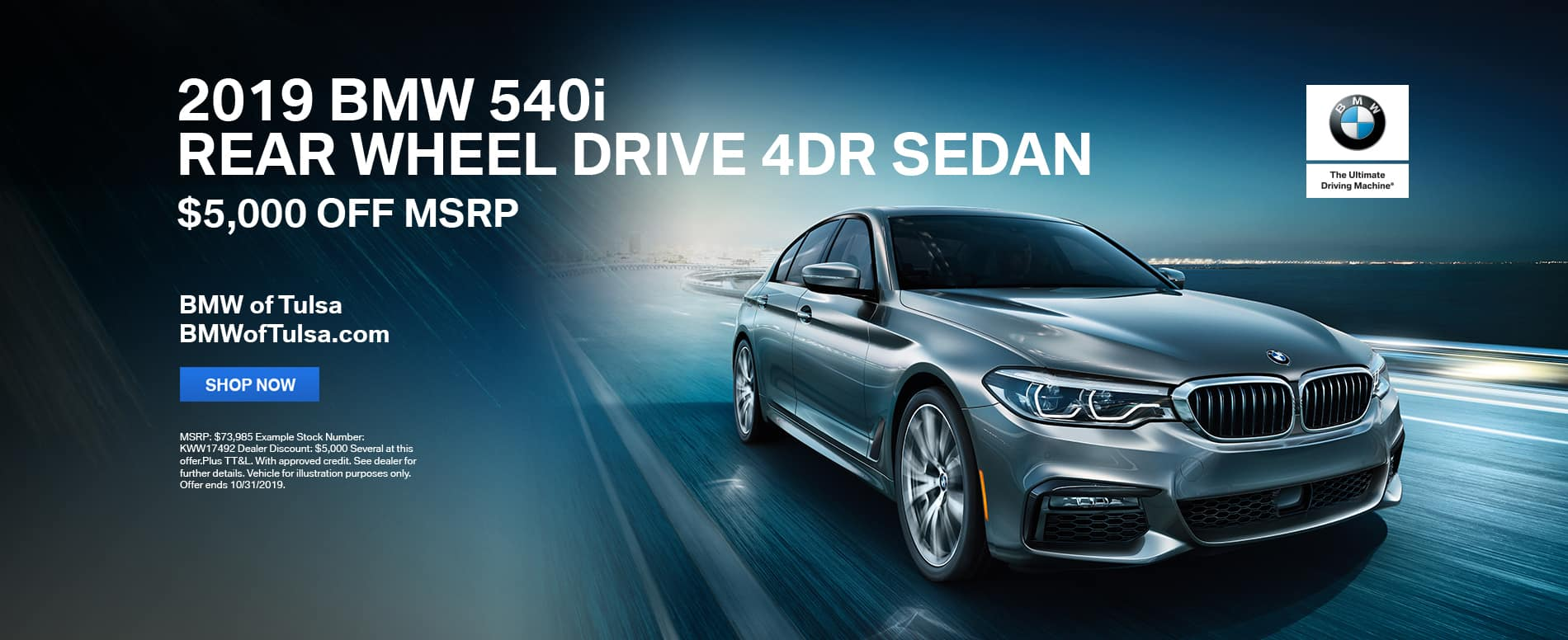 2019_BMW_Tulsa_540i_Offer