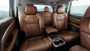 Acura MDX Seating